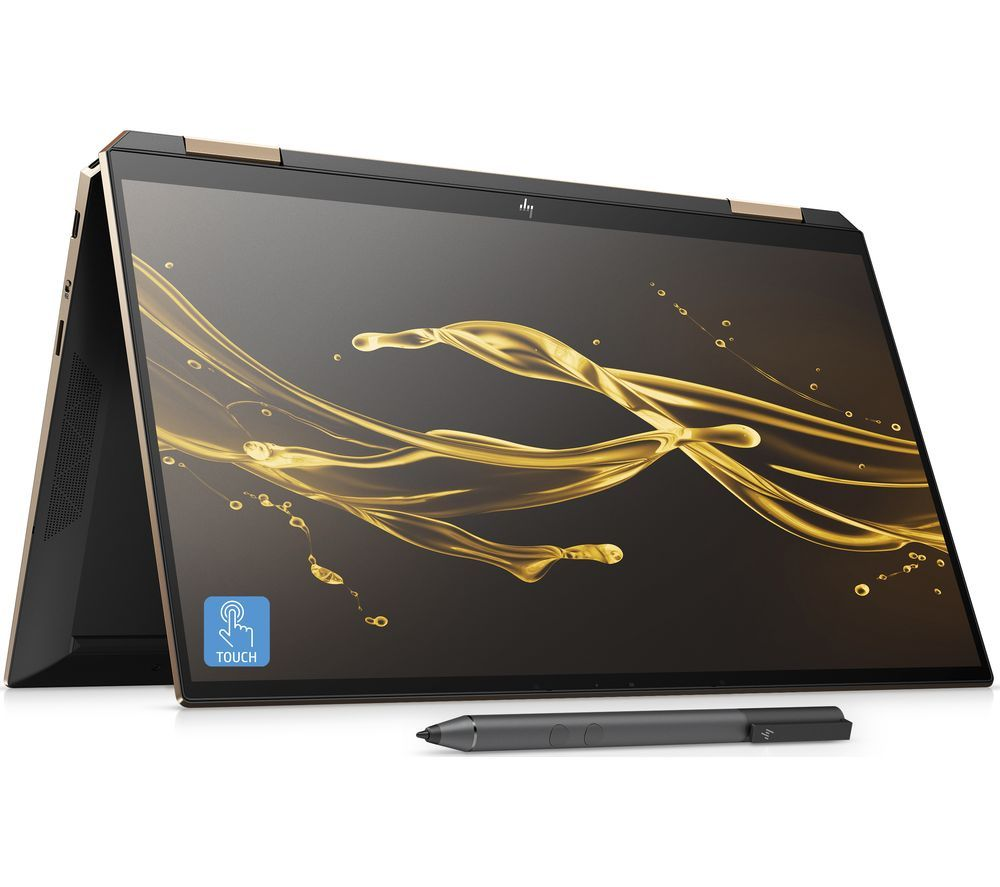 "Image of HP Spectre x360 13.3"" 2 in 1 Laptop - Intel®Core™ i5, 256 GB SSD, Black, Black"