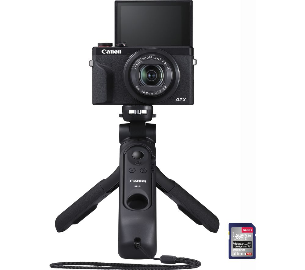 CANON PowerShot G7 X MK III Compact Camera Vlogger Kit