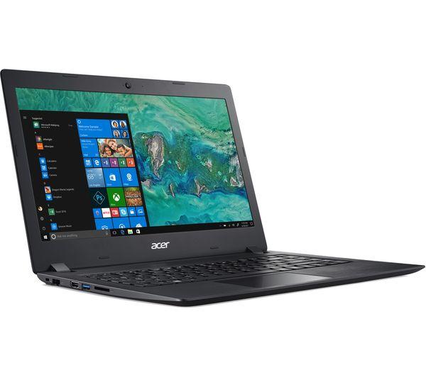 "Image of ACER Aspire 1 14"" Laptop - Intel® Celeron™, 64 GB eMMC, Black"