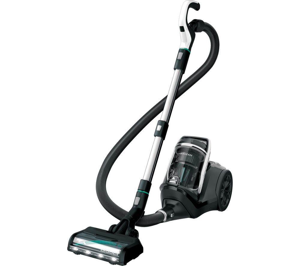Image of BISSELL SmartClean Pet Cylinder Bagless Vacuum Cleaner - Black, Black