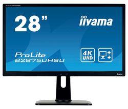 "ProLite B2875UHSU-B1 4K Ultra HD 28"" LCD Monitor - Black"