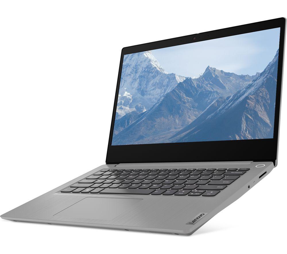 "LENOVO IdeaPad 3 14"" Laptop - AMD Athlon Gold, 128 GB SSD, Grey"