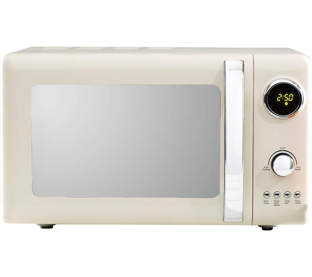 Daewoo Kensington Sda1654 Solo Microwave Cream Cream
