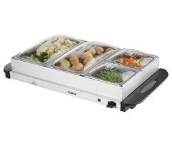 T16016 4 Tray Buffet Server - Silver