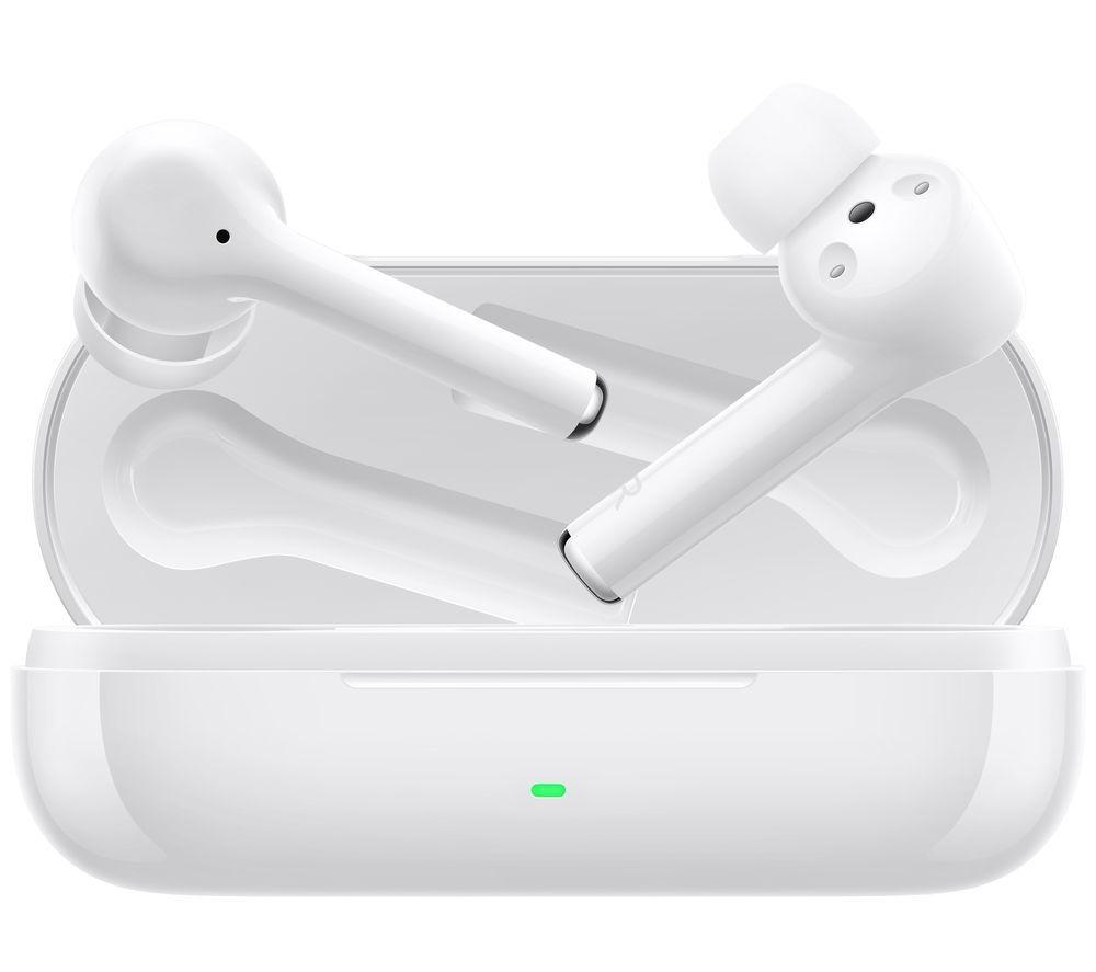 HUAWEI FreeBuds 3i Wireless Bluetooth Noise-Cancelling Earphones - White