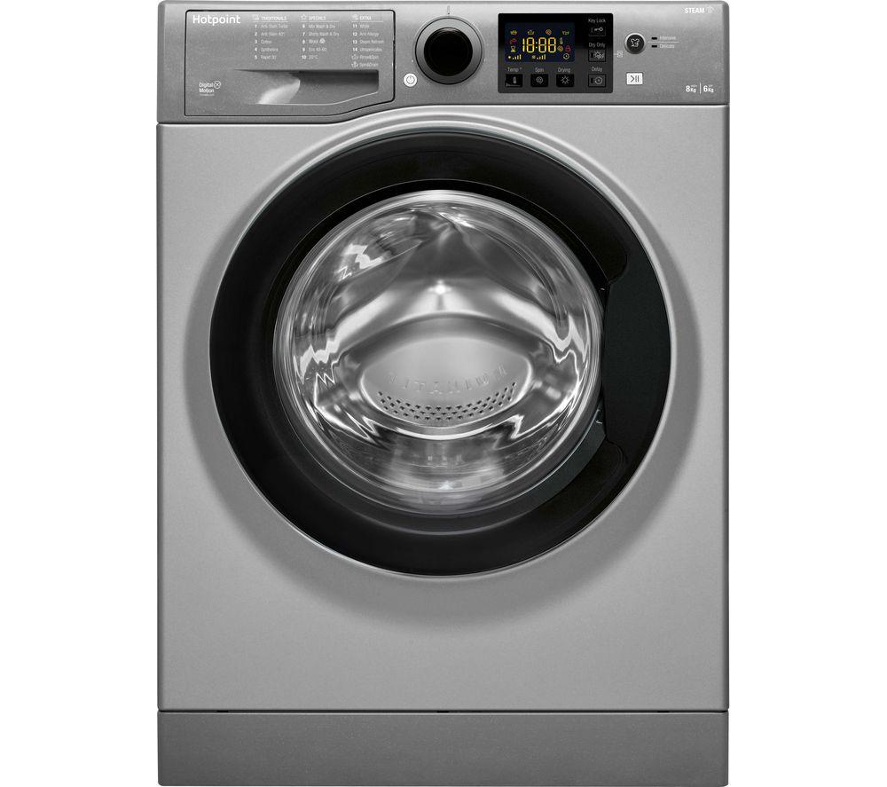 HOTPOINT RDG 8643 GK UK N 8 kg Washer Dryer - Graphite