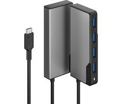 Fusion Series SWIFT 4-Port USB Type-C Hub