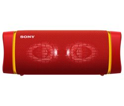 SONY SRS-XB33 Portable Bluetooth Speaker - Red