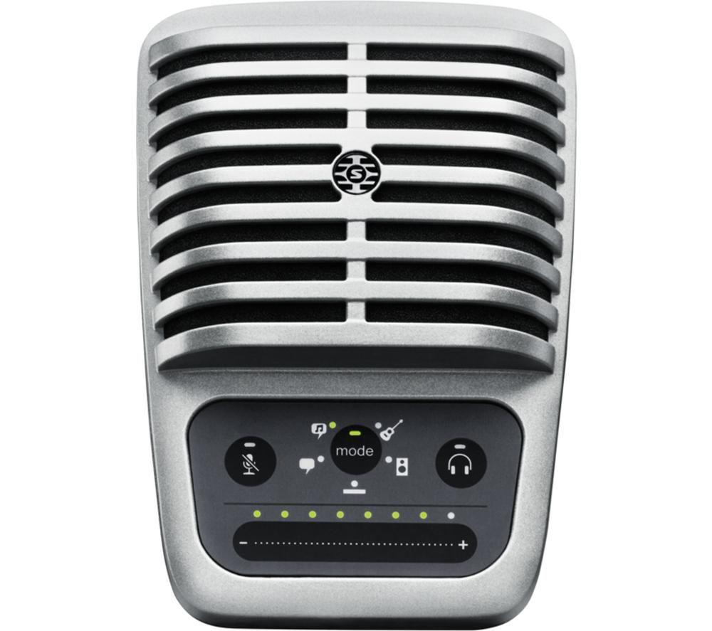 SHURE Motiv MV51 Microphone - Silver