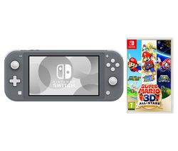 Switch Lite & Super Mario 3D All-Stars Bundle - Grey