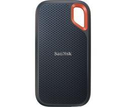 Extreme Portable External SSD V2 - 500 GB, Black