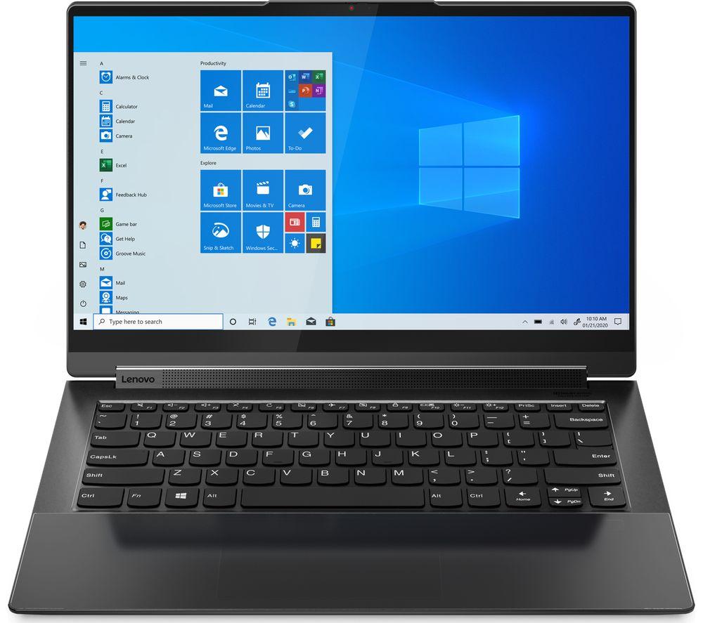 "Image of LENOVO Yoga 9i 14"" 2 in 1 Laptop - Intel®Core™ i7, 1 TB SSD, Black, Black"