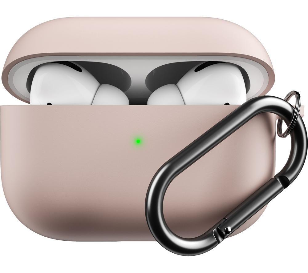 KEYBUDZ Hybrid Shell AirPods Pro Protective Keychain Case - Pastel Pink, Pink