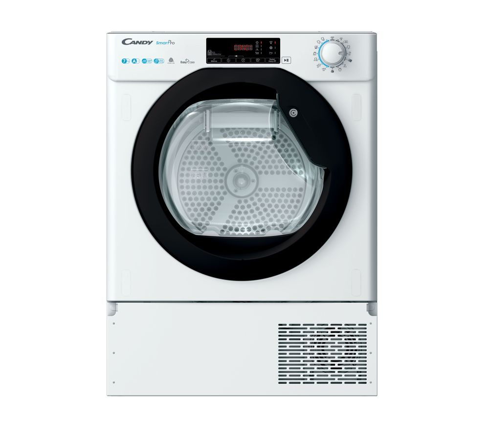 CANDY BCTD H7A1TBE-80 WiFi-enabled Integrated 7 kg Heat Pump Tumble Dryer