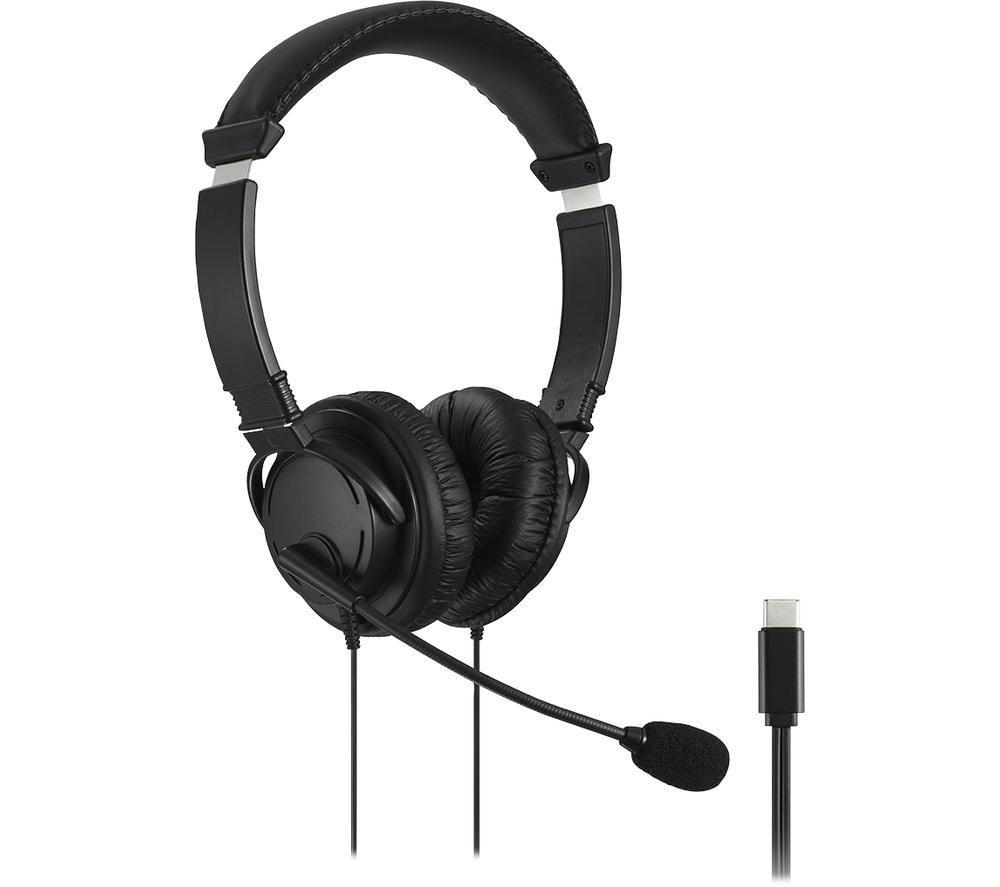 KENSINGTON K97457WW Headset - Black