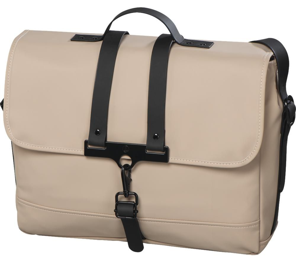 "HAMA Perth 15.6"" Laptop Messenger Bag - Beige"