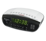 ROBERTS CR9971 Chronologic VI Analogue Clock Radio - Silver