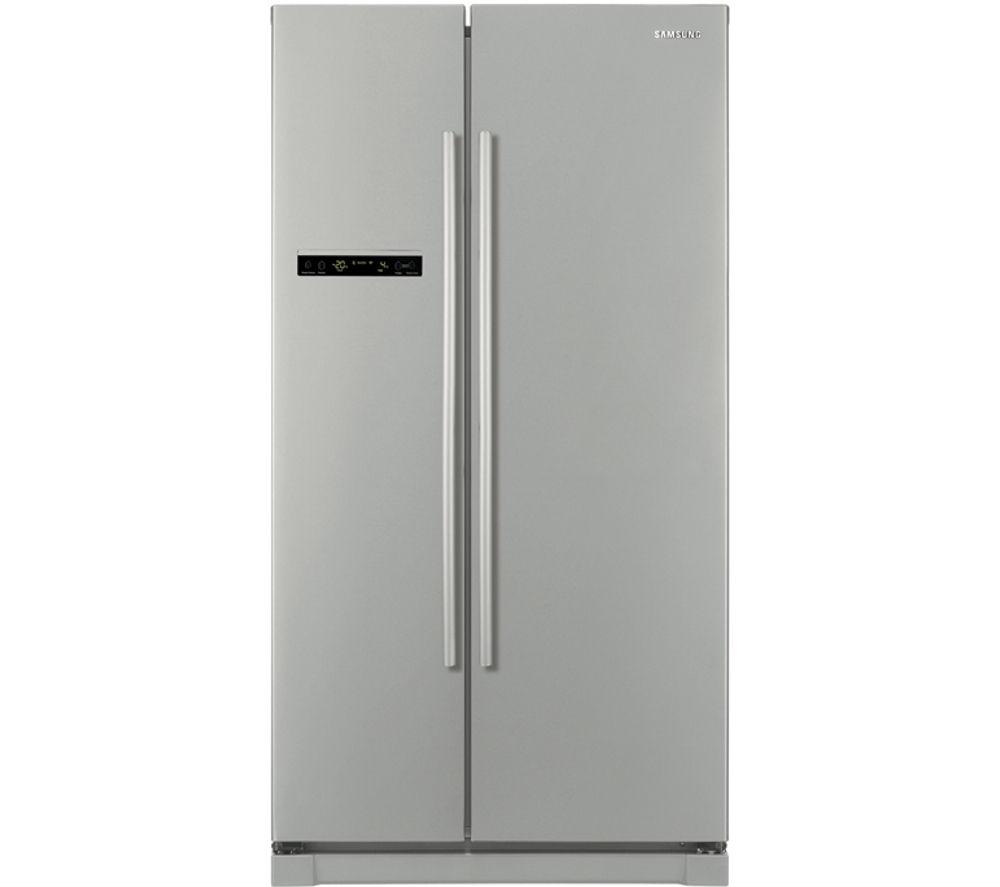 SAMSUNG RSA1SHPN American-Style Fridge Freezer - Platinum Inox
