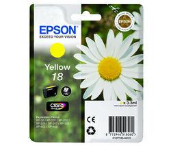 EPSON Daisy T1804 Yellow Ink Cartridge